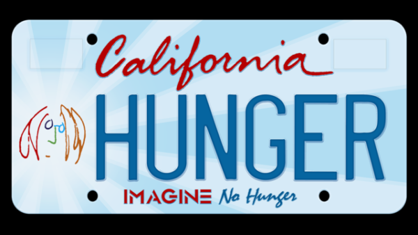New John Lennon Inspired License Plates Seek To Help End Hunger In